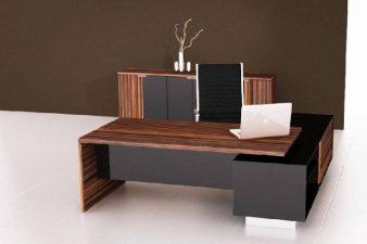 Egy modern iroda bútorai